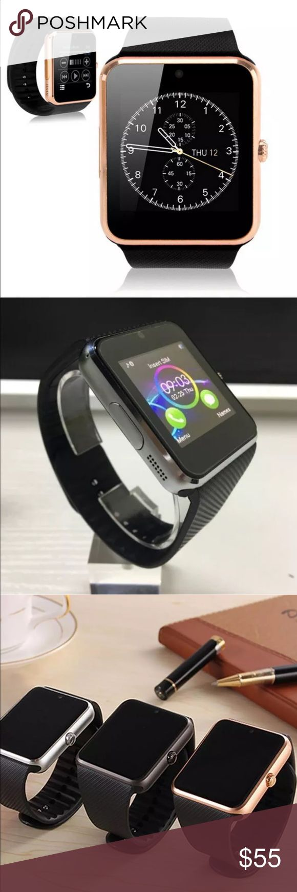 Smart watch GT08 Smart Watch . Screen type Capacitive Touch Screen . World TimeTime/Alarm clock/Pedometer/MP3/Sleep Monitor/Remote Camera/Wap/QQ Wechat/Bluetooth Music/Sedentary remind/Anti-lost/Flight mode 1. There is no APK for iPhone, so five functions can't sync with iPhone 1. Anti-lost, 2. Messaging, 3 Notifier, 4. Remote Camera, 5. Bluetooth Music. But all other functions in the description can use normally because no need to use app. 2. Android Phone can support all functions in the…