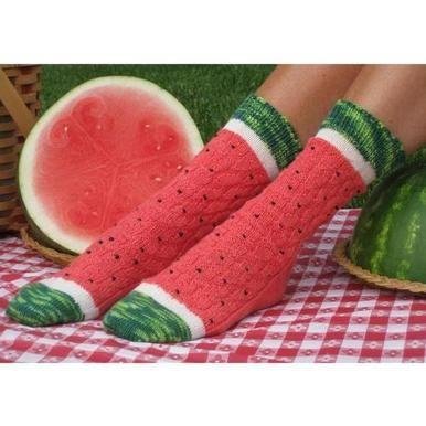 Watermelon Slice Sock Kit