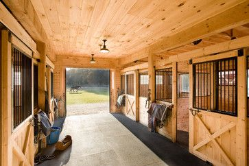 Horse Barn Design Ideas, Pictures, Remodel, and Decor - page 5