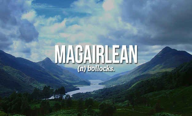 18 Sweary Scottish Gaelic Words You Need To Use Right Now More