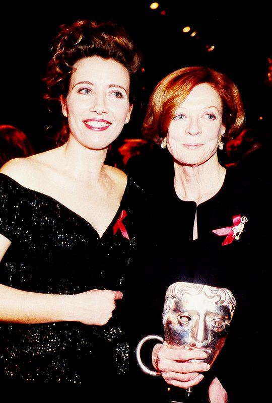 Эмма Томпсон и Мэгги Смит - BAFTA Awards (1993)
