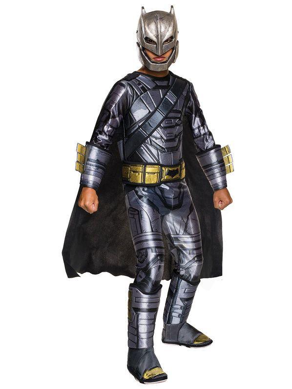 Check out Batman V Superman Boys Deluxe Batman Armored Costume - Batman V Superman Boys Costumes from Wholesale Halloween Costumes