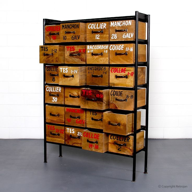 Jorma Industrial Chest of Drawers - Black | $699.00