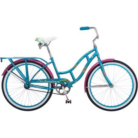 Schwinn Delmar 24 inch Girls' Cruiser Bike, Purple