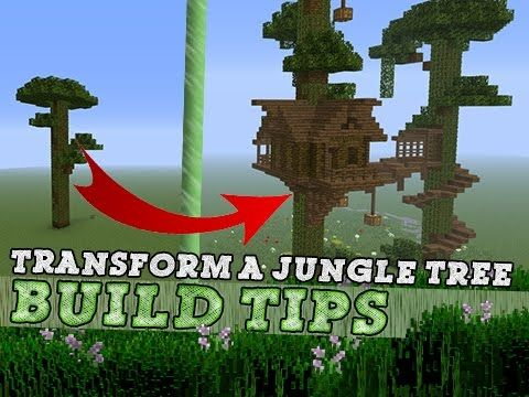Minecraft | TREE HOUSE | Build Tips & Ideas! - YouTube