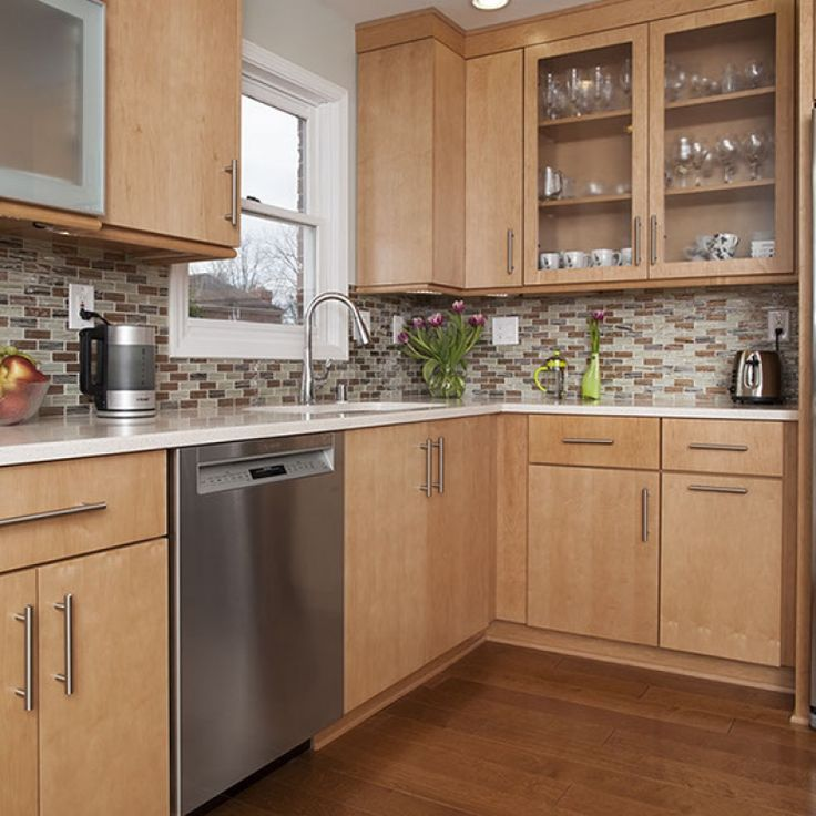 Color - Brown & Light Wood by Cabinets | New kitchen ...