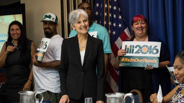 Jill Stein of the Green Party • 6 June 2016 http://abcnews.go.com/Politics/meet-woman-running-president/story?id=39639422