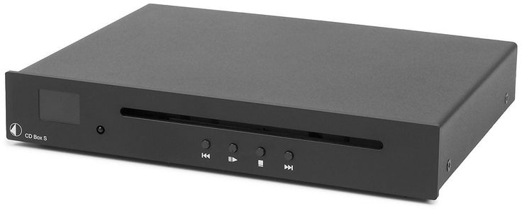 CD Players and Recorders: Pro-Ject Cd Box S Ultra Compact Cd Player (Black) BUY IT NOW ONLY: $399.0