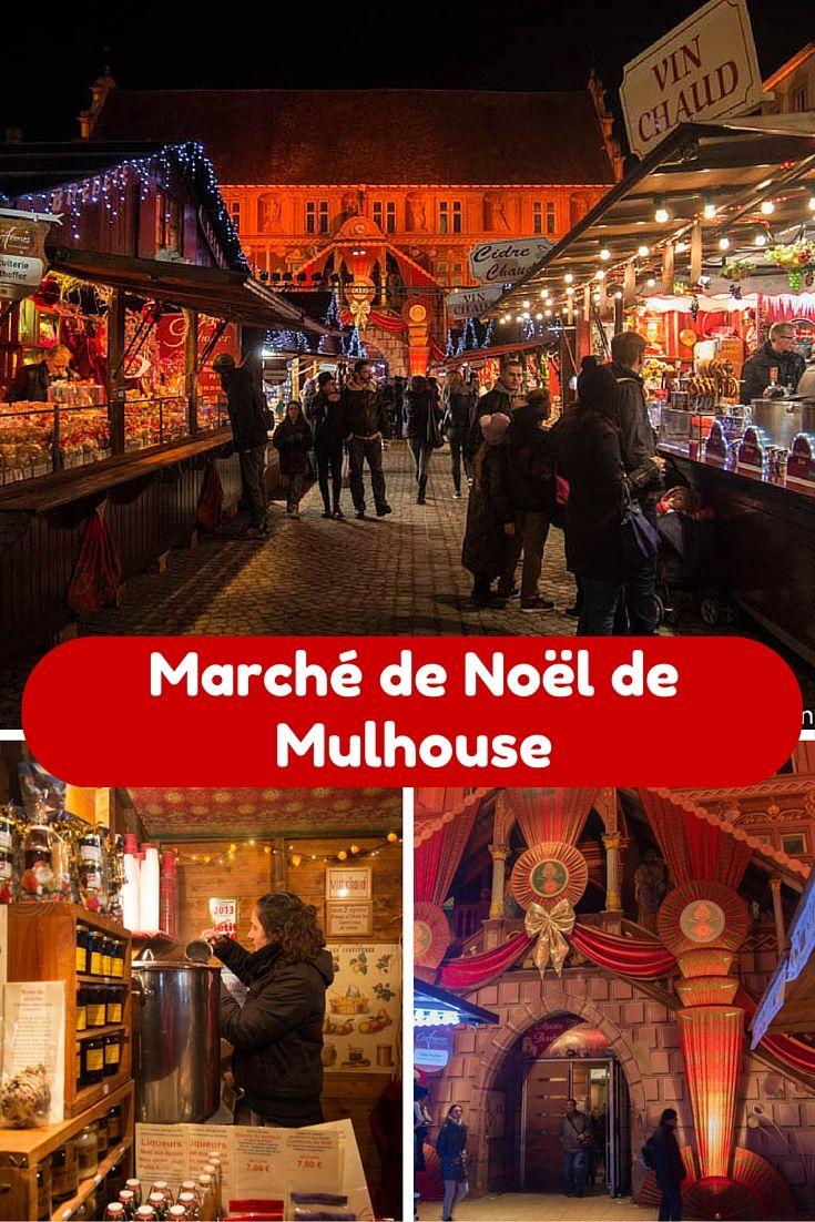 Marché de Noël de Mulhouse en Alsace