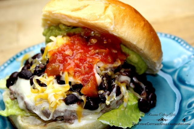 Rosevine Cottage Girls: South Of The Border Burger