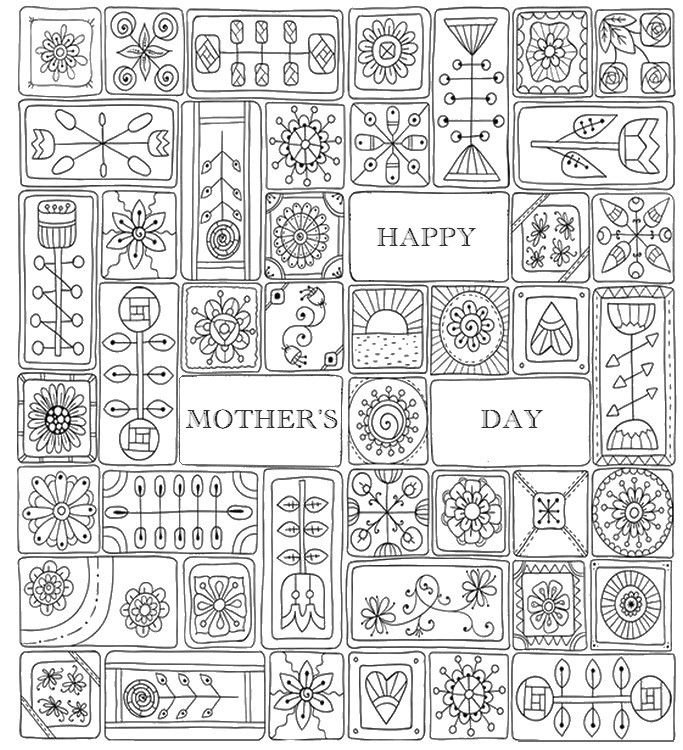 89 best Color Me Happy! images on Pinterest Print coloring pages - mothers day card template
