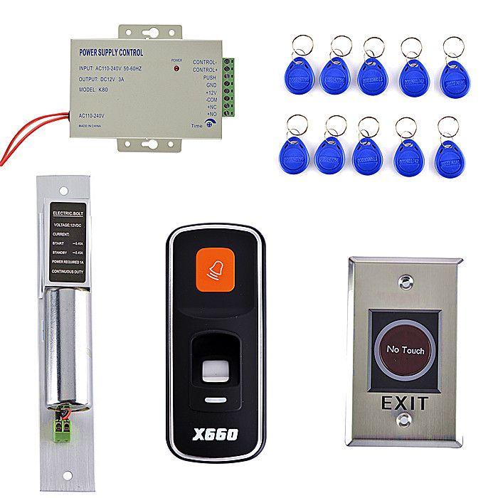 10 Rfid Key Card No Touch Door Switch Diy Fingerprint 125khz Rfid Id Card Reader Door Access Control System Access Control System Door Switch Access Control