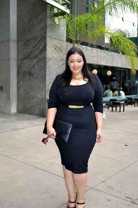 Big Girls Plus Size Curvy Fashion Styles Bbw Id Es De Looks Pour Femmes Rondes Pinterest