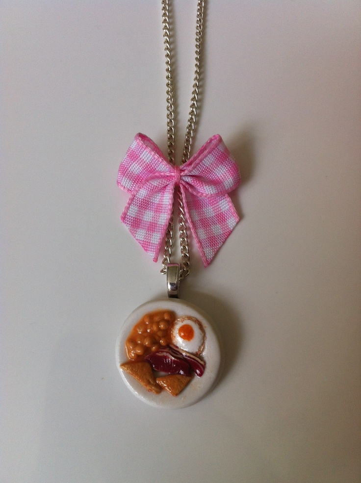 English Breakfast Necklace