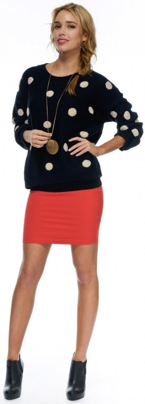 Taylor Spot Knit by Sass Now: $75.95