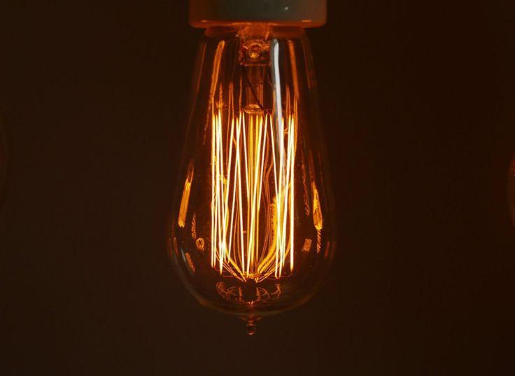 Accessoire déco Danlamp : ampoules incandescentes à filament décoratives http://www.leblogdeco.fr/danlamp-ampoules-incandescentes-filament-decoratives/ ampoule, ampoule à incandescence, ampoule design, Cool Republic, Danlamp