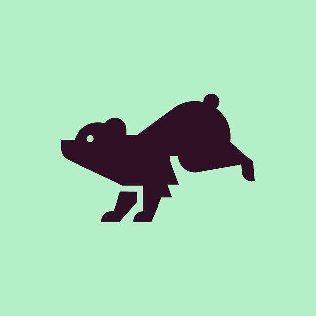 Bear #icon #icondesign #iconic #iconography #iconaday #pictogram #picto #symbol #vector #graphicdesign #graphic #illustration #design #desig