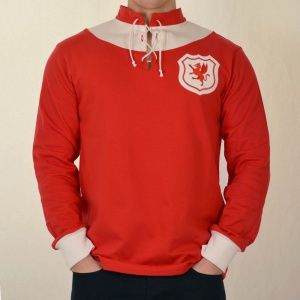 Wales 1920 Retro Football Shirt