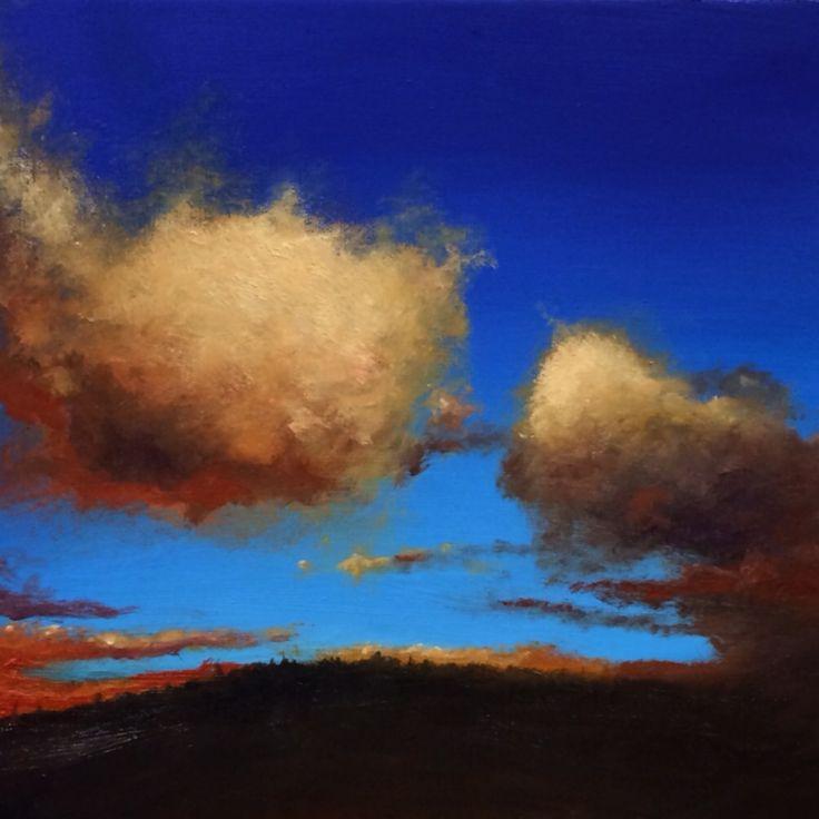 Igor Meyer. Oil on canvas. 30x30 cm. 2015.