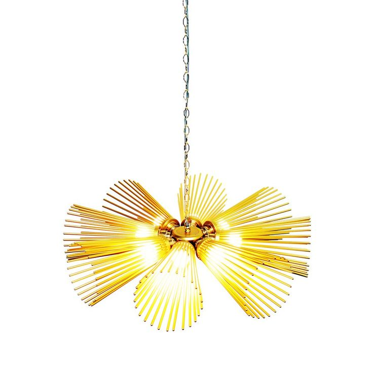 Carina Chandelier 8 Light by Charles Lethaby Lighting — | ECC