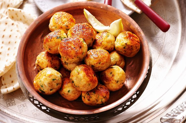 Delicate meatballs with nuts, herbs and spices make a delicious mezze dish.