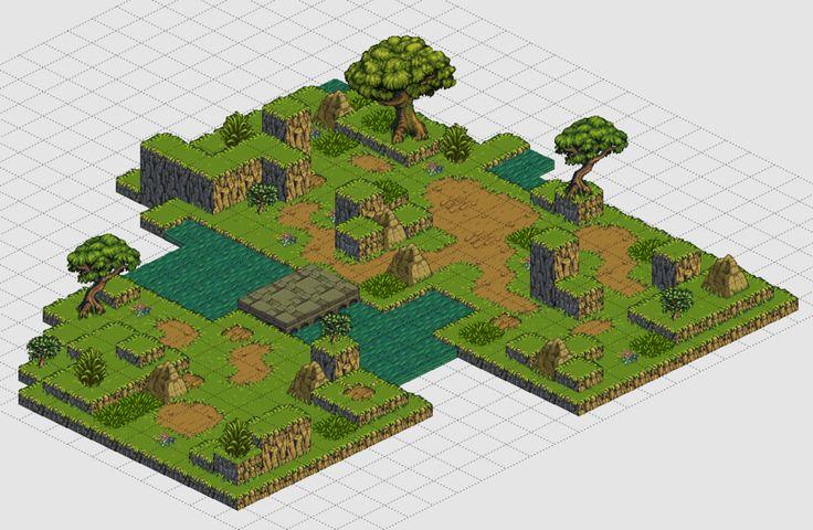 Tiledmap - isometric by TimJonsson.deviantart.com on @deviantART