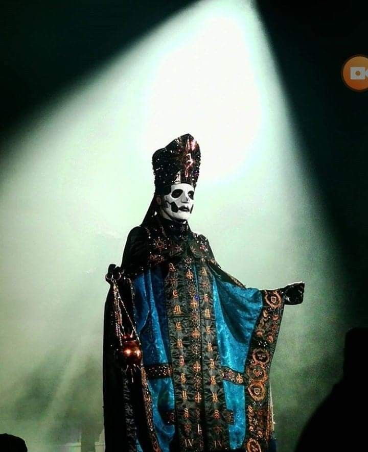 Papa Emeritus Iv Ghost Papa Ghost Rock Band Ghost And Ghouls