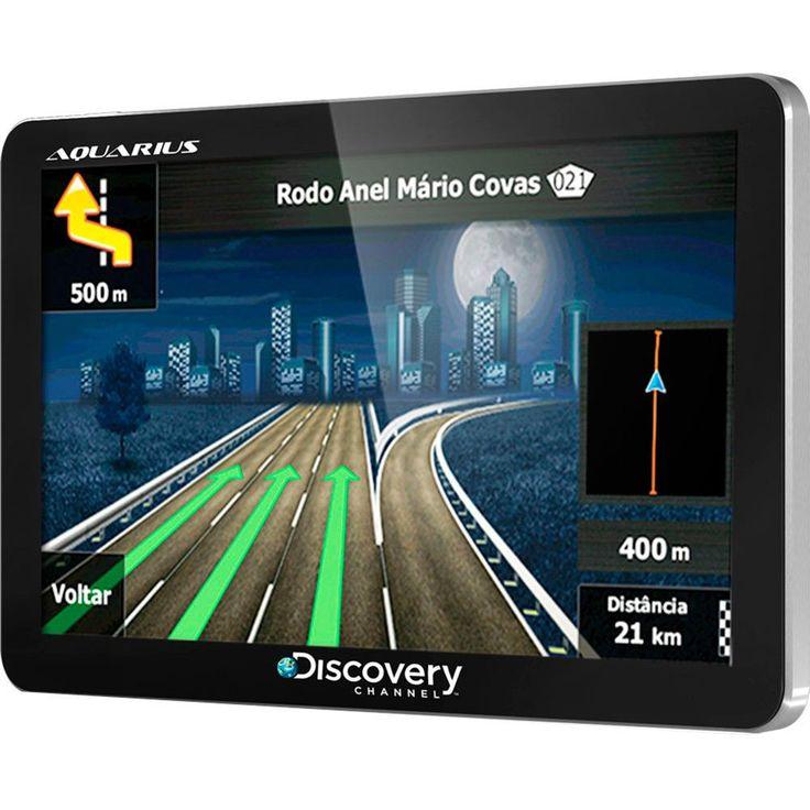GPS -GPS Automotivo Aquarius Discovery Channe... - Shoptime.com-Click e Confira no Site.