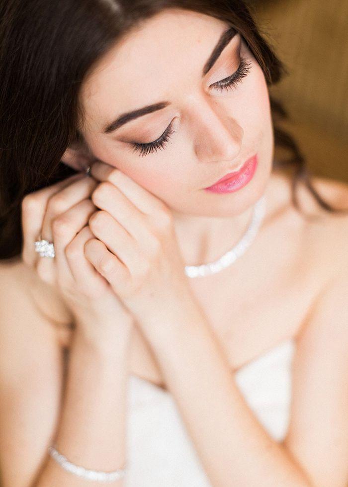 Romantic Glam Bridal Makeup    #makeup #beauty #bride #bridal