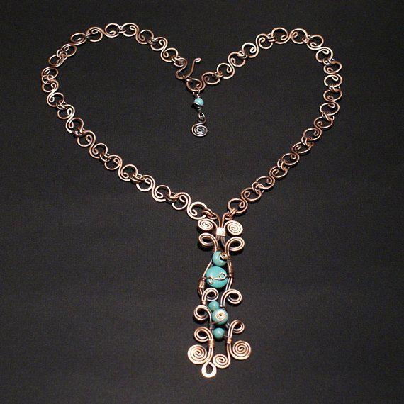pendiente de turquesa collar de turquesa conjunto joyería de
