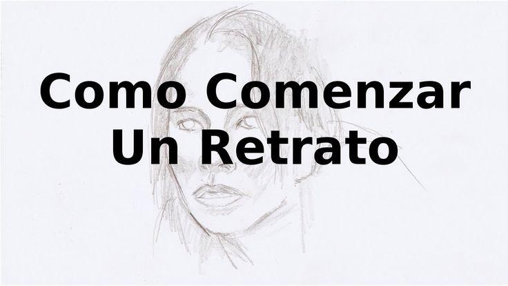 Cómo Dibujar Un Retrato a Lápiz: Cómo Comenzar a Dibujar un Retrato: How...