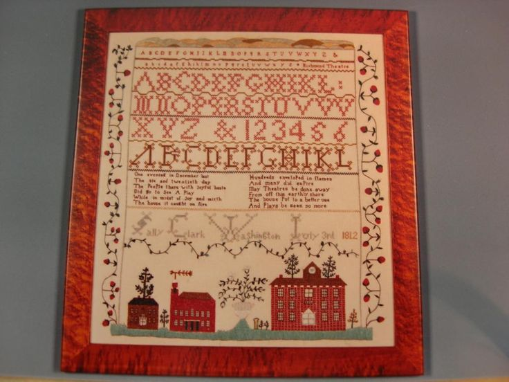 977 Best Images About Cross Stitch Samplers On Pinterest