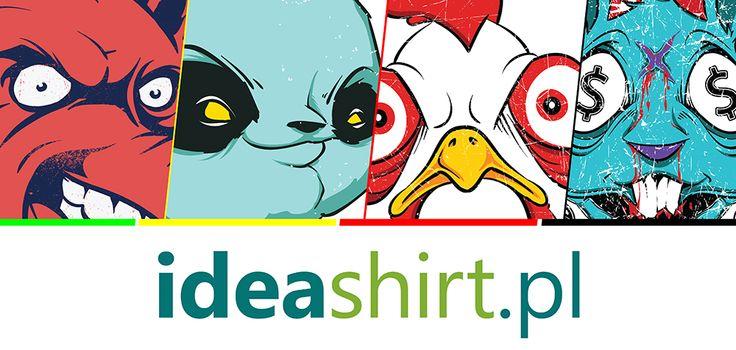Byłeś już na www.ideashirt.pl? Codziennie dodajemy nowe wzory na koszulki. Sporo ciekawych rzeczy!