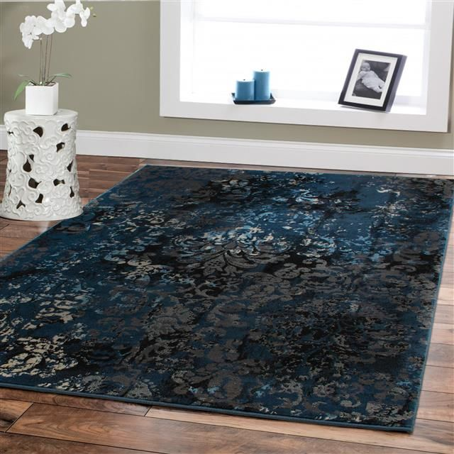 Large Premium Soft Luxury Rugs For Living Rooms 8x11 Navy Blue Rug Beige Brown Black 8x10 Area Rugs