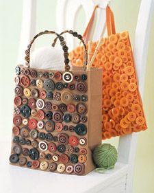 Button bags!