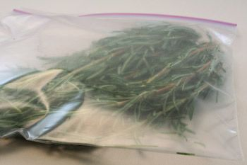 How to Freeze Fresh Herbs: Rosemary and Thyme | Kalyn's Kitchen®