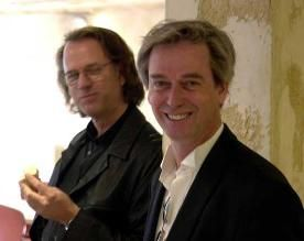 Andre Rieu and his brother
