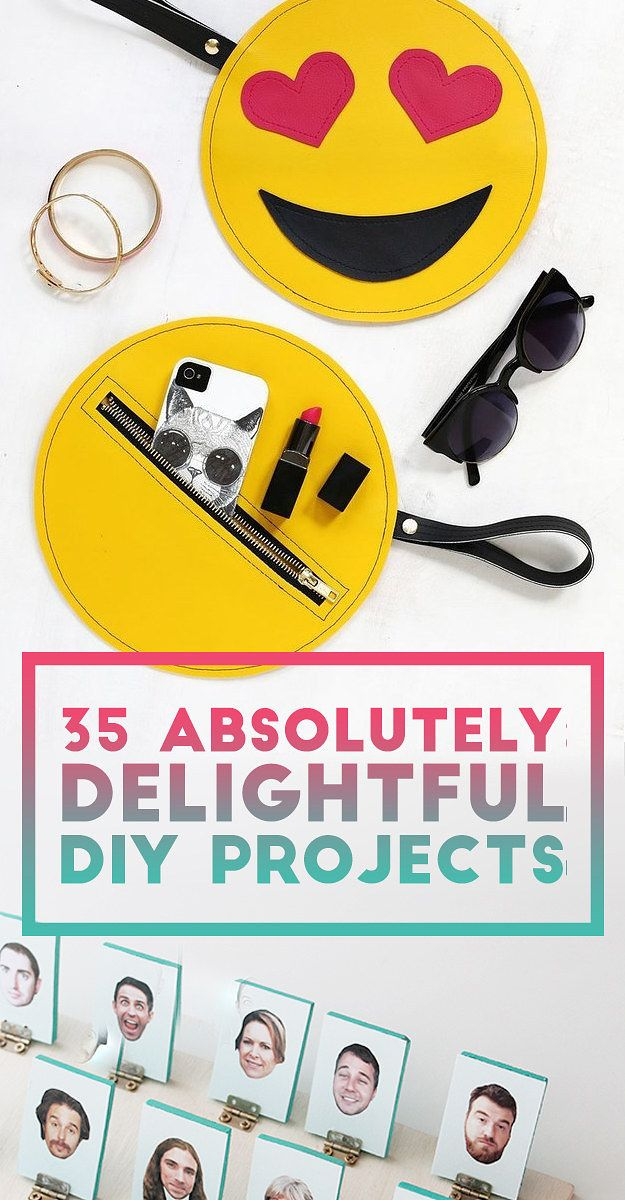 35 Absolutely Delightful DIY Projects