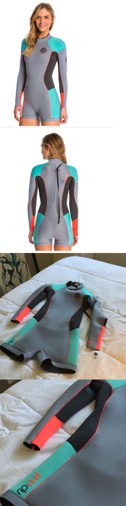 Women 47356: Rip Curl Size 8 Spring Suit Wetsuit Surfboard Longboard Roxy 110 To 130 Lbs -> BUY IT NOW ONLY: $49.99 on eBay!