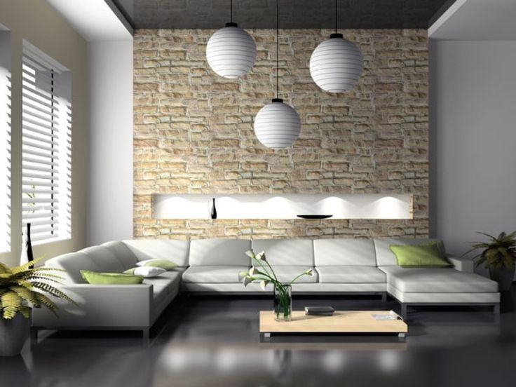 gemütliche innenarchitektur : wohnzimmer design vorschläge moderne ...