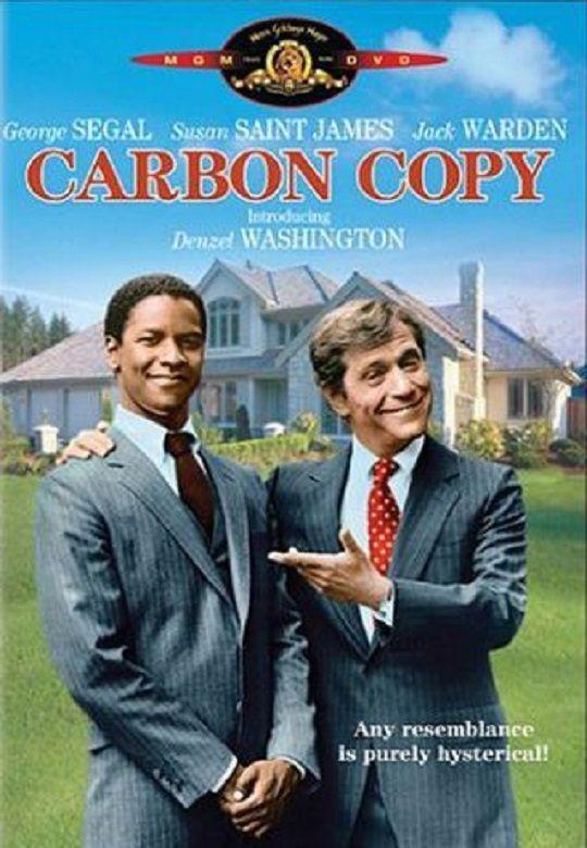 Carbon Copy (1981) Denzel Washington played the role of Roger Porter.