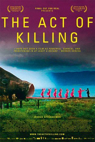 My vote for best documentary Oscar 2014. This film is insane! A documentary which challenges former Indonesian death-squad leaders to reenact their mass-killings in whichever cinematic genres they wish, including classic Hollywood crime scenarios and lavish musical numbers.