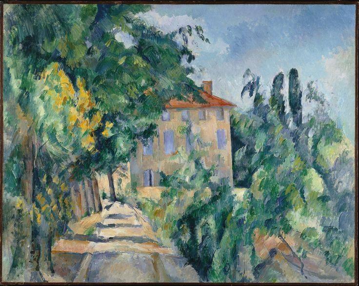 Paul Cézanne - Maison au toit rouge (Jas de Bouffan)