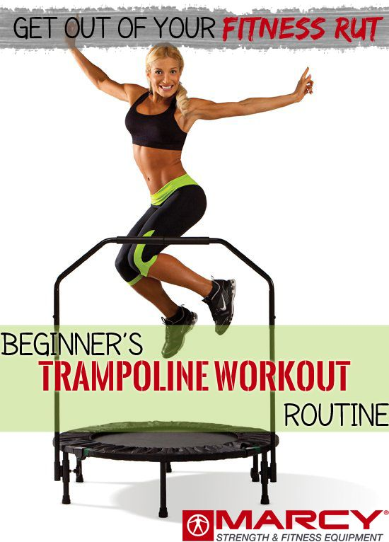 https://leanwife.com/cardio-trampoline/ Beginner's Trampoline Workout Routine | Marcy Pro Blog #fitness #workout