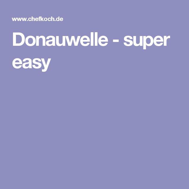 Donauwelle - super easy