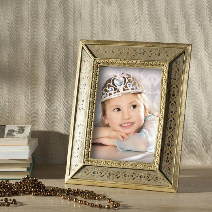 #ramka #photo #picture #frames #family #decoration #home #dekoracje Ramka Beatrice 19x2x24cm gold, 19x2x24cm - Dekoria