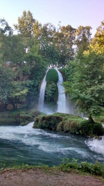 Antalya, Antalya konumunda Düden Şelalesi