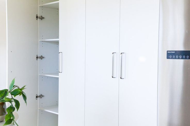 Home Sweet Home - Shepperd Building. Pantry Cupboard in kitchen.