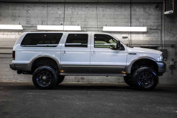 Beastly lifted V10 2003 Ford Excursion Eddie Bauer 4x4 SUV For Sale | Northwest Motorsport
