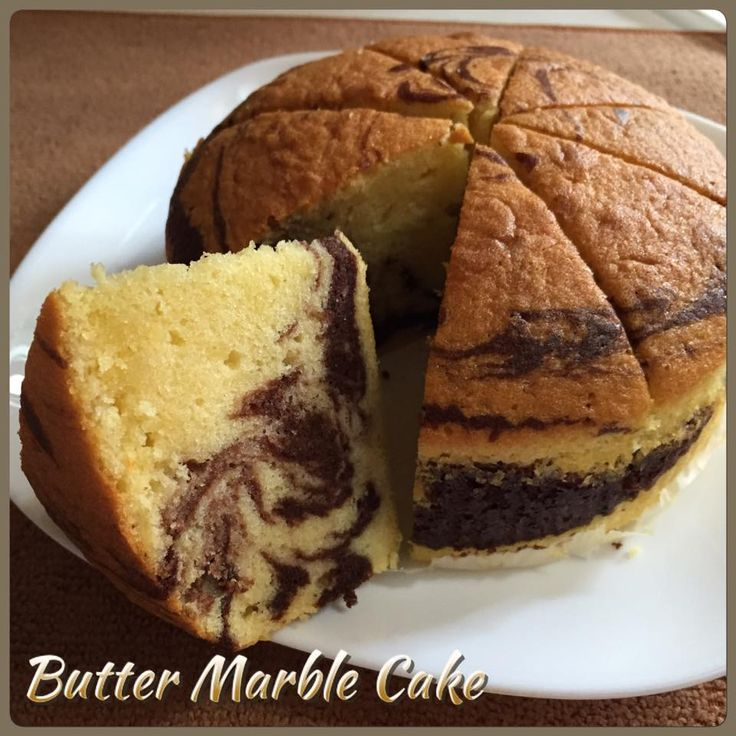Singapore Home Cooks: Butter Marble Cake by Goh NgaiLeng‎